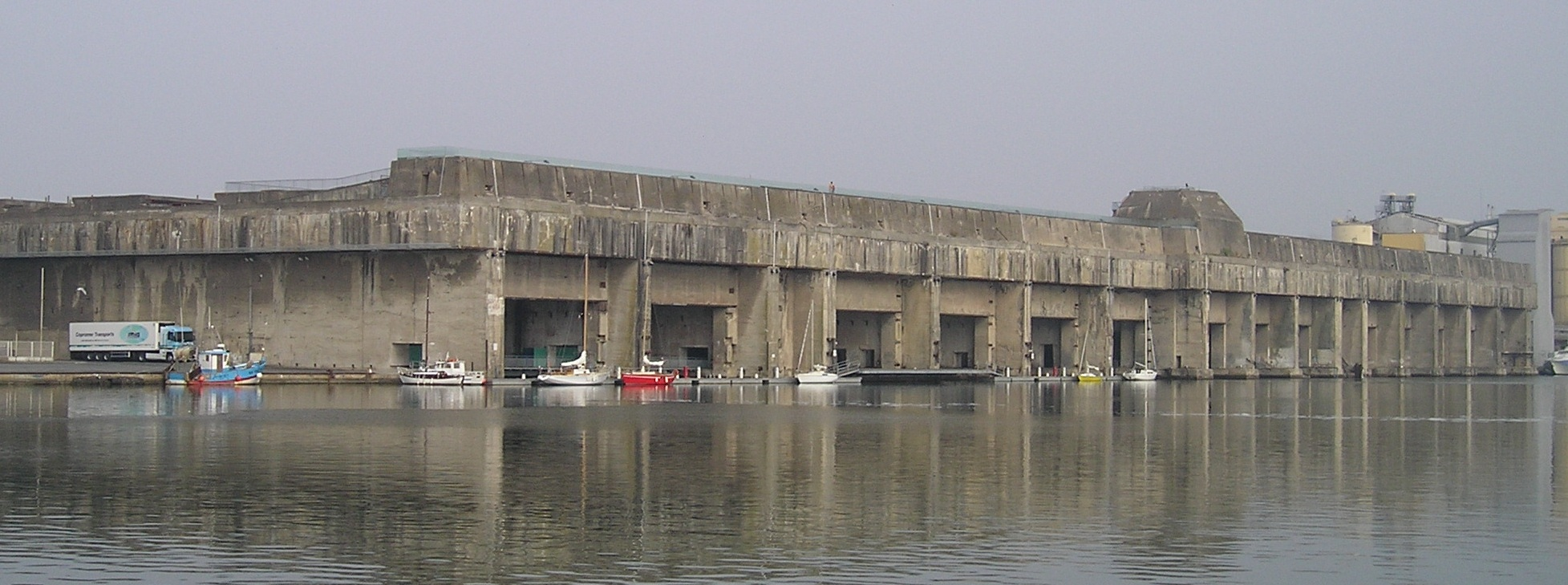 U Boat Base In Saint Nazaire Too Big To Knock The