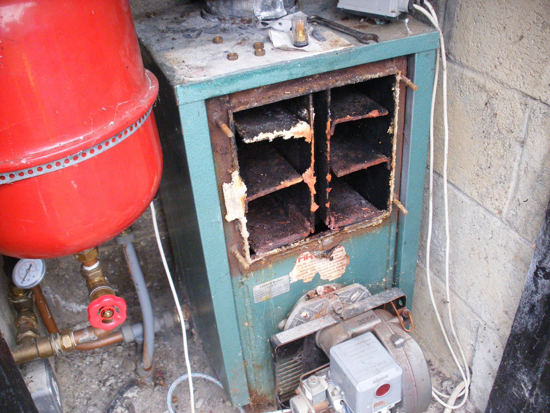 Servicing An Oil Boiler Firebird Popular Range The