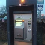 Irish Rail Ticket machine in Sallins
