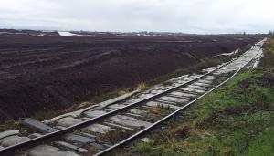 Irish bog perimeter railway