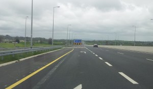 2. Decceleration lane, Moneygall turnoff on the M7