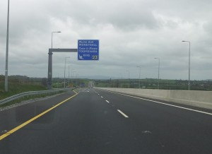3. Final sign for Moneygall turnoff on the M7