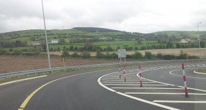 4. Off ramp at Moneygall....hang on.