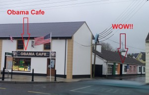 Obama Cafe, Moneygall