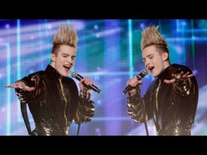 Ireland's entry Jedward