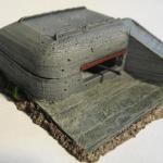 Model of H667 bunker