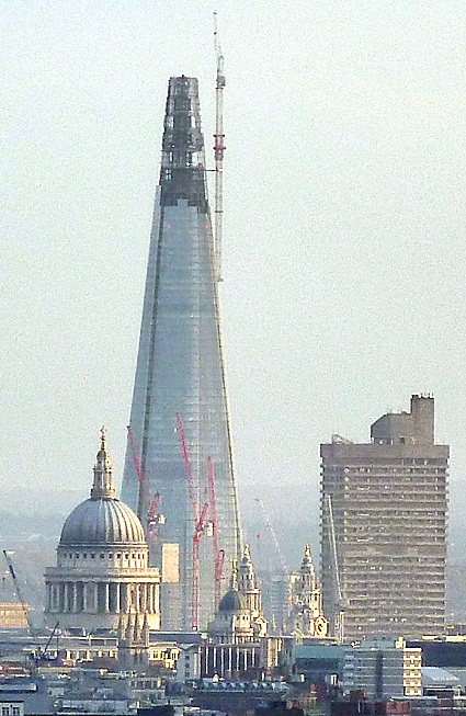 The Tallest Building In Europe For The Moment The Shard