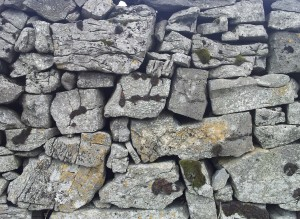 Irish Dry stone walls. Different sizes.