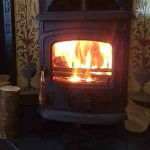 Warm fire picture