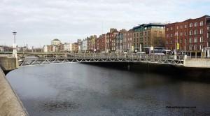 Millennium Pedestrian Bridge, Dublin