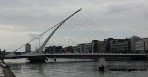 Samuel Beckett Swing Bridge, Dublin