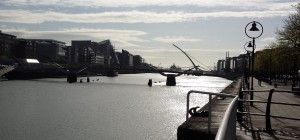 Sean O Casey Swing Bridge, Dublin