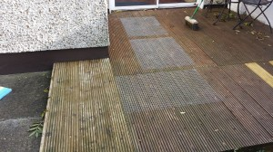 Slippy decking - after