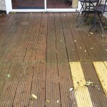 Slippy decking