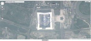 Pentagon compared New Century Global Center, Chengdu