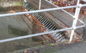 Culvert screen in Naas Town