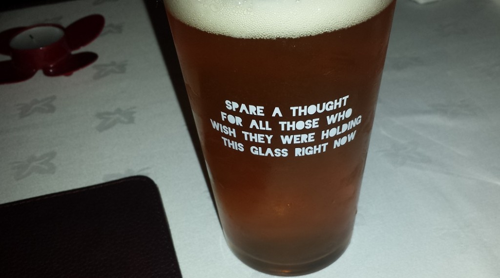 Real Dublin - A pint of beer and deep thoughts