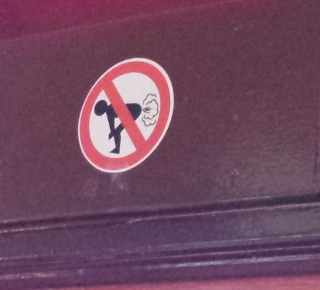 Another sign in same Dublin coffee shop